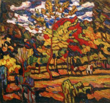 Autumn Sunshine | Abraham A Manievich | oil painting