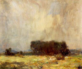 Coming Storm | William Langson Lathrop | oil painting