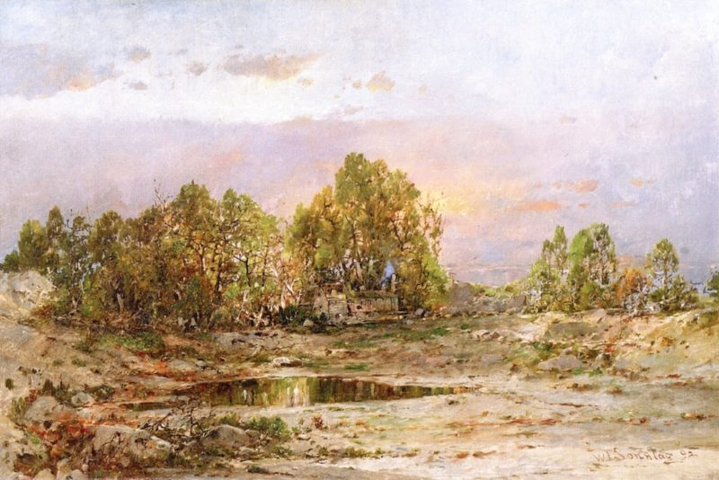 A Sultry Afternoon   William Louis Sonntag   oil painting