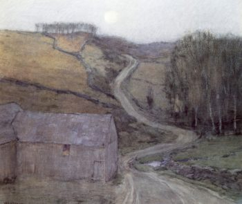 Country Road near Solebury | William Langson Lathrop | oil painting