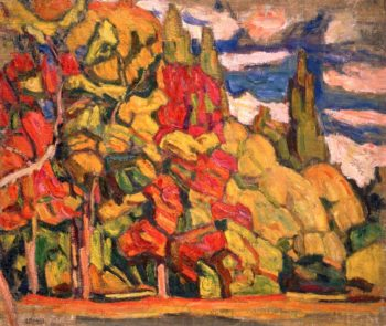 Autumn | Abraham A Manievich | oil painting