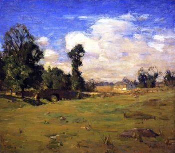 Elys Bridge | William Langson Lathrop | oil painting