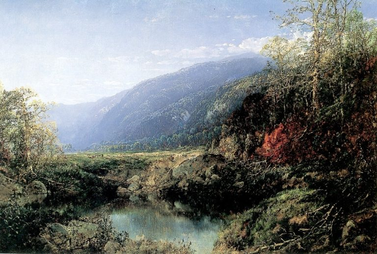 A Lake in the Mountains | William Louis Sonntag | oil painting