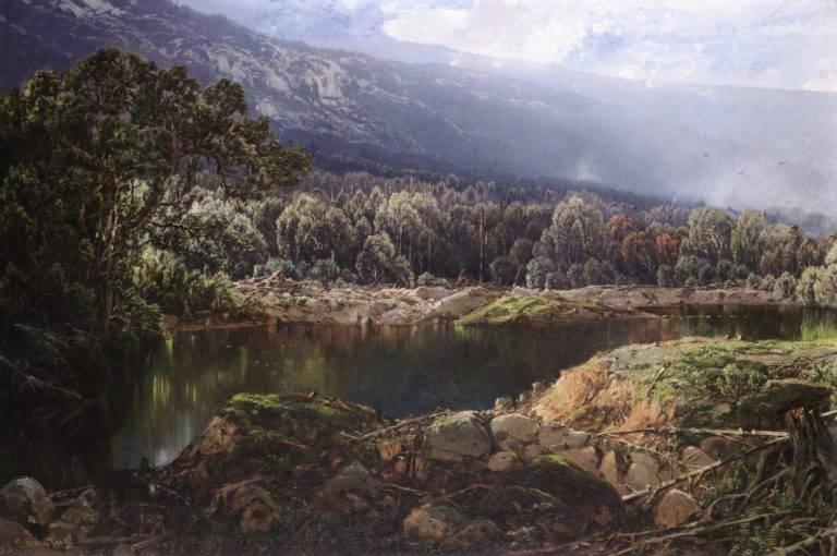 Morning in the Adirondacks   William Louis Sonntag   oil painting