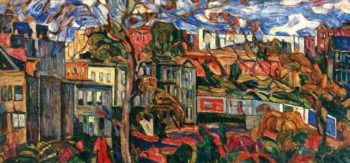 Boston Post Road | Abraham A Manievich | oil painting