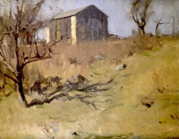 Little Wills Hollow | William Langson Lathrop | oil painting
