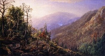 West Virginia Mountains | William Louis Sonntag | oil painting