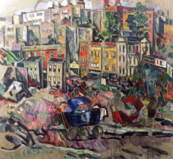 Bronx II | Abraham A Manievich | oil painting