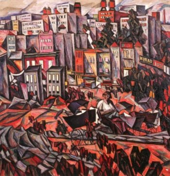 Bronx I | Abraham A Manievich | oil painting