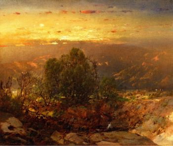 Mountain Sunset | William Louis Sonntag | oil painting