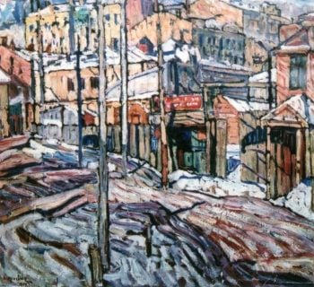 City 2 | Abraham A Manievich | oil painting