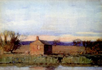 Old Schoolhouse | William Langson Lathrop | oil painting