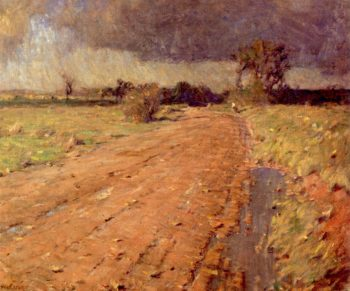 Red Shale Road | William Langson Lathrop | oil painting