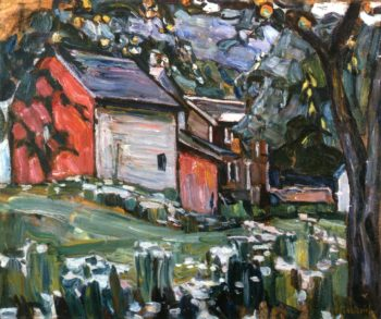 Country House Outskirts of Moscow | Abraham A Manievich | oil painting