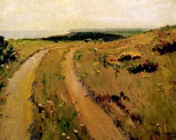 Road along the Bluff | William Langson Lathrop | oil painting