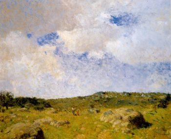 Sea Island Pasture | William Langson Lathrop | oil painting