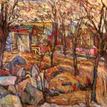 Country in the Mountains | Abraham A Manievich | oil painting