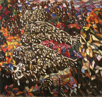 Decorative Panel Park | Abraham A Manievich | oil painting