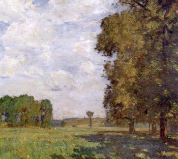 Summer | William Langson Lathrop | oil painting