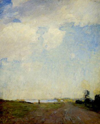 Sunshine after Rain | William Langson Lathrop | oil painting