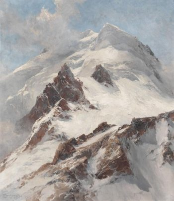 Piz Morteratsch | Edward Theodore Compton | oil painting