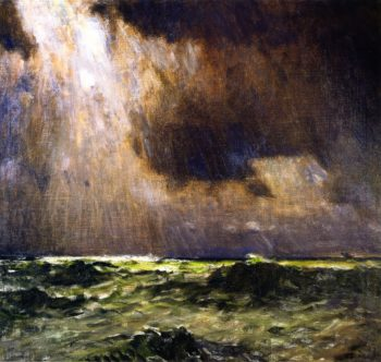 The Black Squall | William Langson Lathrop | oil painting