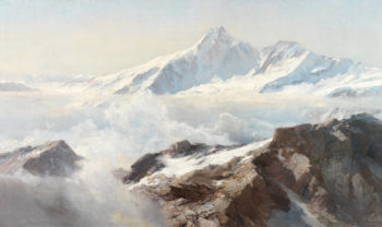 Grossglockner | Edward Theodore Compton | oil painting
