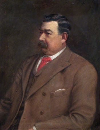 Councillor William Matthews | Charles Ernest Butler | oil painting