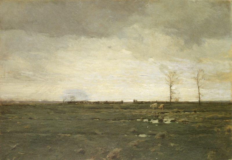 The Meadows | William Langson Lathrop | oil painting