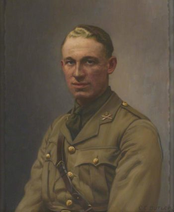 Lieutenant A L Bobby | Charles Ernest Butler | oil painting