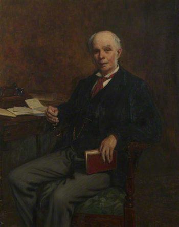 Sir Alfred Erasmus Dryden | Charles Ernest Butler | oil painting