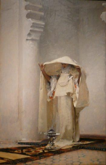 Smoke of Ambergris | John Singer Sargent | oil painting