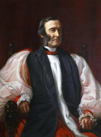 Frederick Temple Bishop of Exeter | Edward Arthur Fellowes Prynne | oil painting