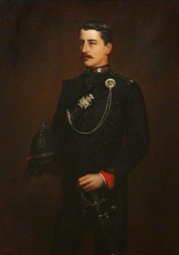 Piers Alexander Viscount Valletort | Edward Arthur Fellowes Prynne | oil painting
