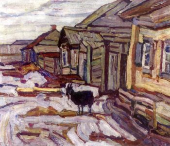 My Birthplace | Abraham A Manievich | oil painting