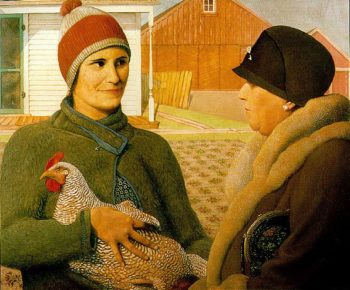 Appraisal | Grant Wood | oil painting