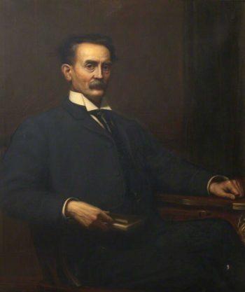 William Law | Edward Arthur Fellowes Prynne | oil painting