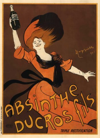 Absinthe Ducros Fils | Leonetto Cappiello | oil painting