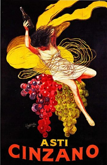 Asti Cinzano | Leonetto Cappiello | oil painting