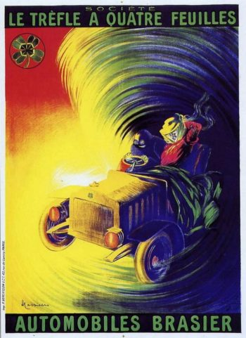 Automobiles Brasier | Leonetto Cappiello | oil painting