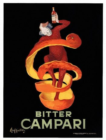 Bitter Campari | Leonetto Cappiello | oil painting