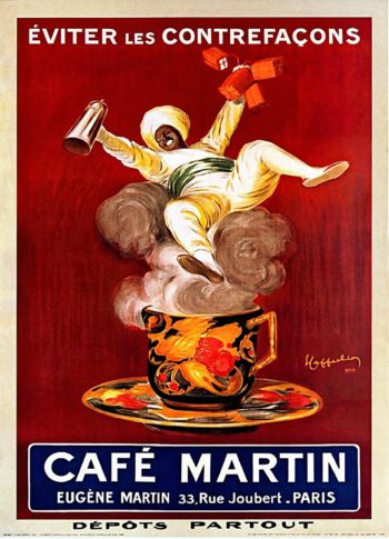 Cafe Martin | Leonetto Cappiello | oil painting
