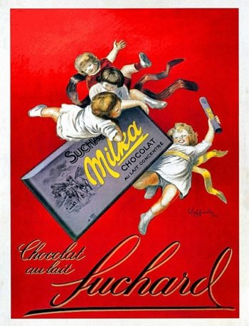 Chocolat au Lait Suchard | Leonetto Cappiello | oil painting