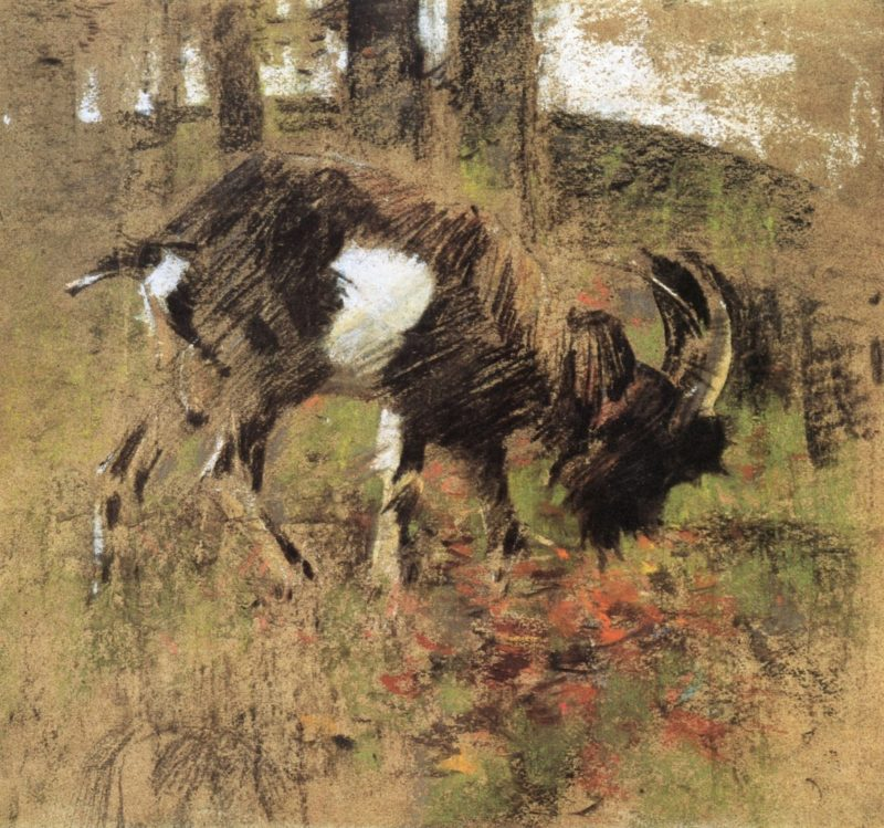The Goat | Joseph Crawhall | oil painting