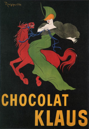 Chocolat Klaus | Leonetto Cappiello | oil painting