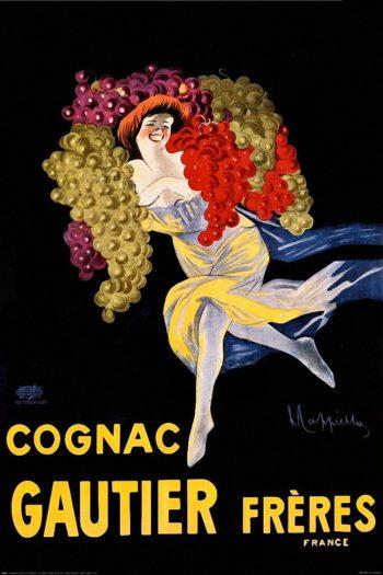 Cognac Gautier Freres | Leonetto Cappiello | oil painting