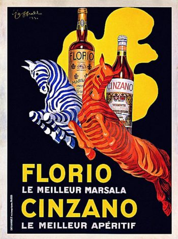 Florio Ciinzano | Leonetto Cappiello | oil painting