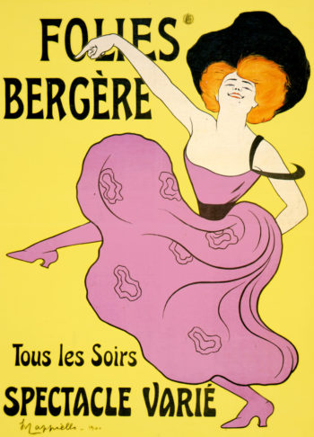 Folies Bergere | Leonetto Cappiello | oil painting