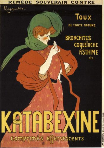Katabexine | Leonetto Cappiello | oil painting