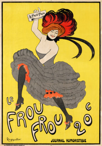 Le Frou Frou 1889 | Leonetto Cappiello | oil painting